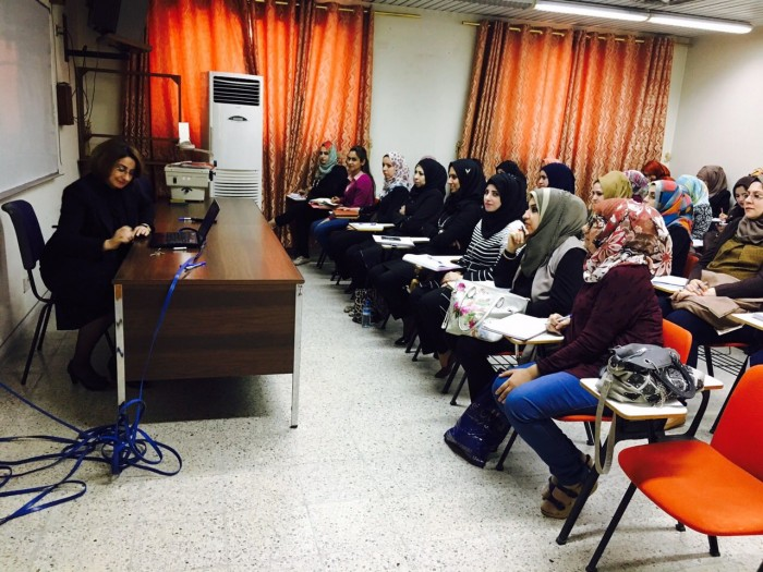 lecture for 1st year students in Iraqi board for medical